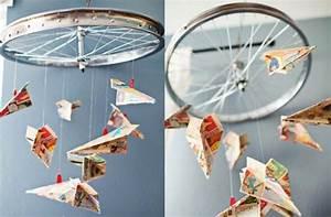 Mobile Basteln Origami : mobilee basteln bastelideen mit kindern ~ Orissabook.com Haus und Dekorationen