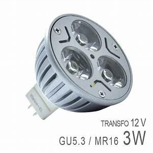 Ampoule Gu5 3 Led : ampoule led gu5 3 3x1w high power boutique officielle ~ Dailycaller-alerts.com Idées de Décoration