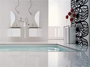 Wall designs for bathrooms : Modern bathrooms