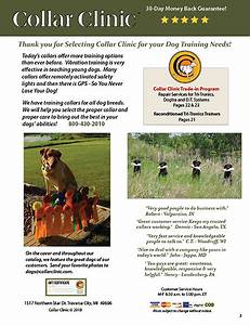 Collar Clinic Free Catalog 2017 Dog Training Equipment