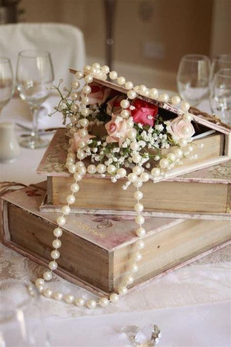 glamorous vintage pearl wedding ideas