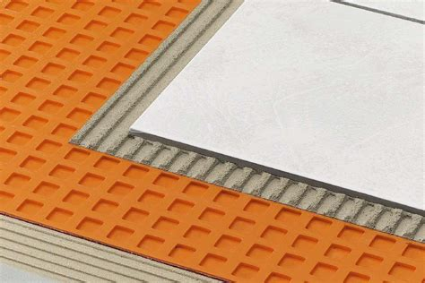 preparing subfloor for slate tile schl 252 ter 174 ditra 25 la solution r 233 novation polyvalente