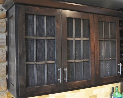 decorative mesh for cabinet doors wire mesh door inserts home design ideas pictures