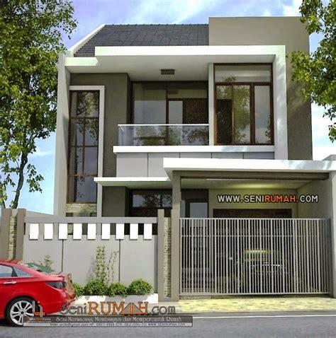 desain rumah  lahan tanah    seni rumah