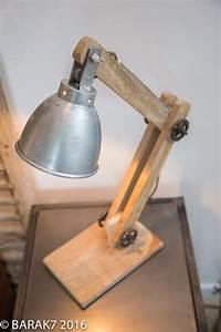 Lampe À Poser Scandinave : lampe poser industrielle scandinave genius en manguier ~ Melissatoandfro.com Idées de Décoration