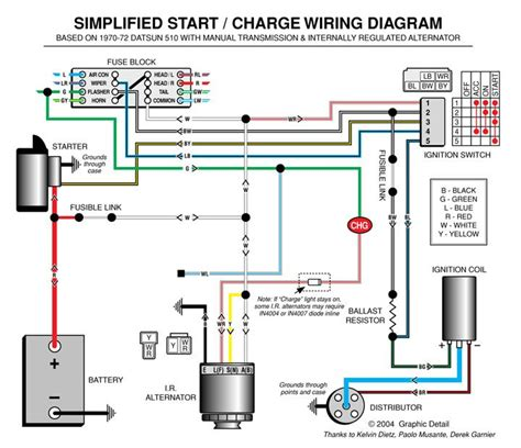 automotive alternator wiring diagram boat electronics
