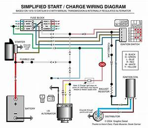Two Wire Alternator Wiring Diagram Nissan