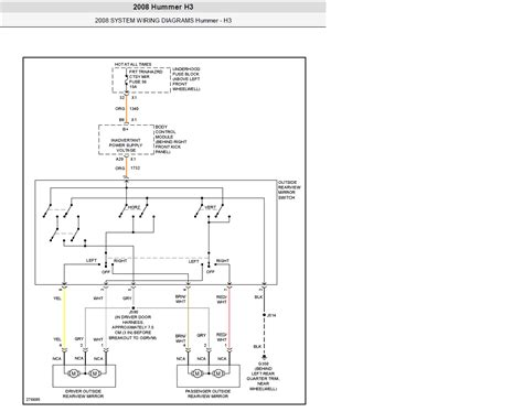Hummer H3 Light Wiring Diagram by Electrical Questions