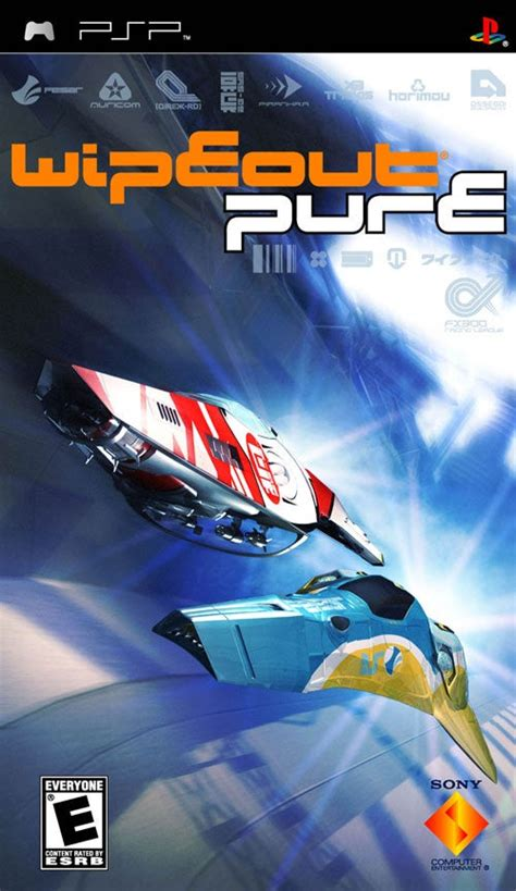 wipeout pure psp iso game games racing usa playstation gravity anti ign portable android direct ppsspp force box angeldust pursuit