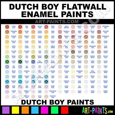 Dutch Boy Paint Color Chart