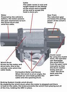 Electric Winch Motor Parts Diagram  U2022 Downloaddescargar Com