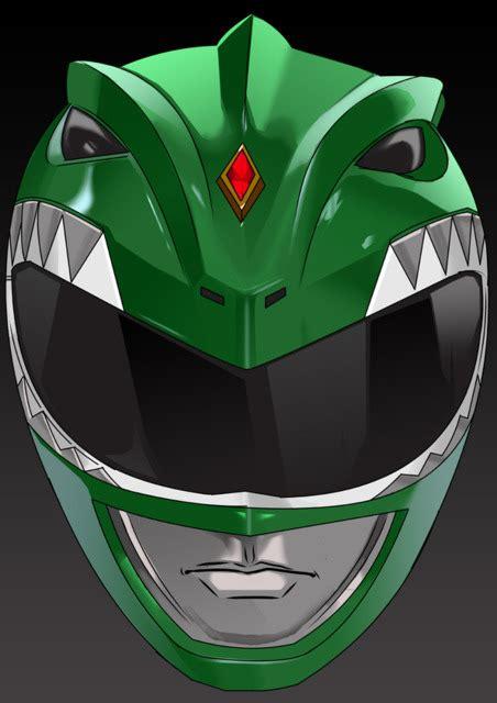 mighty morphin power ranger helmet practice artist show  comic vine