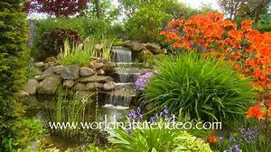 Beautiful Flower Garden Waterfall Beautiful Flower Gardens ...