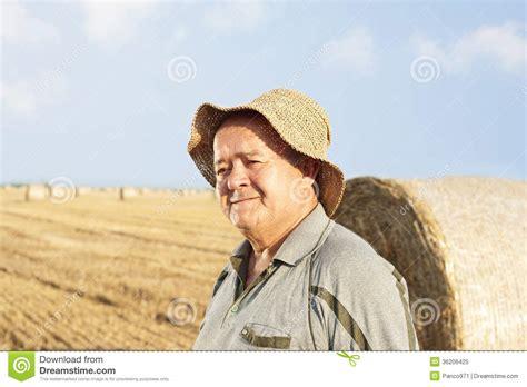 Happy Senior Farmer Royalty Free Stock Photo - Image: 36206425