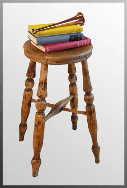 Easel Seat Painters Stool Artists Antiques Antique