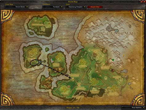 sra vess harmony mote map cloth wow location farming spot lvl