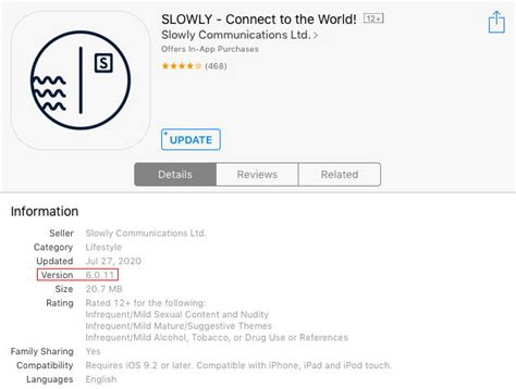 #Slowly version 6.11 is out -- iOS Official Release ...
