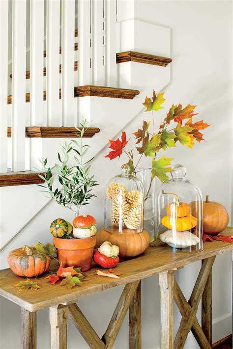 fall decorations for home fall decorating ideas southern living