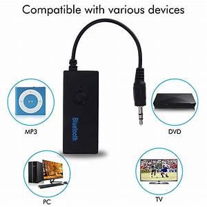 Aux Bluetooth Adapter Test : bluetooth receiver 3 5 mm jack convert aux to wireless ~ Jslefanu.com Haus und Dekorationen