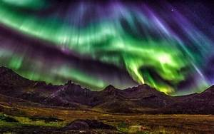 Lofoten Islands, Norway, beautiful night, northern lights ...