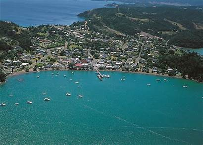 Zealand Russell Bay Islands Visit