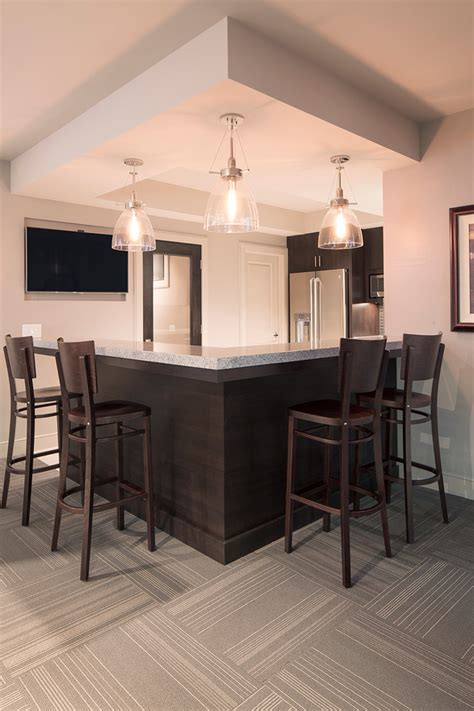 small kitchen remodel contemporary home bar omaha