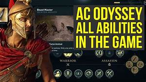Assassin's Creed Odyssey Gameplay - ALL ABILITIES In The ...