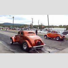33 Willys Blown Injected Gasser Burnout * Cool Memories