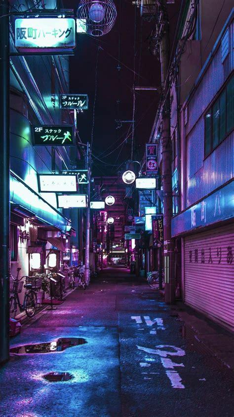 aesthetic japan nightlife wallpapers