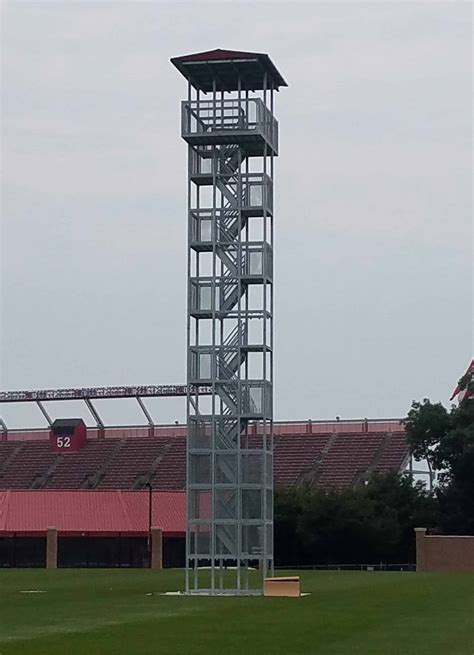sports viewing video towers gallery porta king