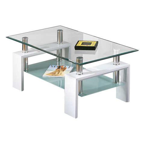 moderner glastisch alister fuer ihr wohnzimmer pharaode