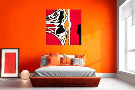 chambre humide tableau abstrait figuratif carré grand format