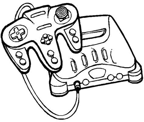 dessin de coloriage jeux video  imprimer cp