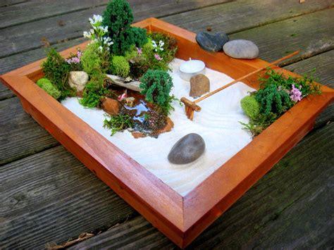 Zen Garten Miniatur mini zen garden bonsai mini zen garden miniature zen