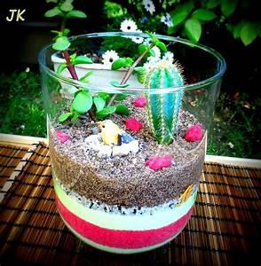 Terrarium Plante Deco : vase en verre terrarium de plantes grasses miniatures ~ Dode.kayakingforconservation.com Idées de Décoration