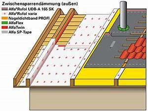 Zwischensparrendämmung Ohne Dampfbremse : dach aufbau w rmed mmung mit luftdichter dampfbremsbahn ~ Lizthompson.info Haus und Dekorationen