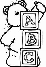 Coloring Pages Blocks Abc Printable Drawing 123 Letters Alphabet Letter Wagon Covered Learning Block Shower Colouring Sheets Drawings Books Clipartmag sketch template
