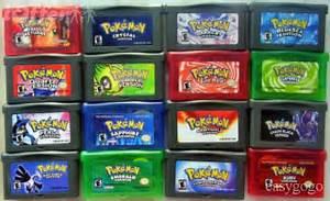 pokemon gba games