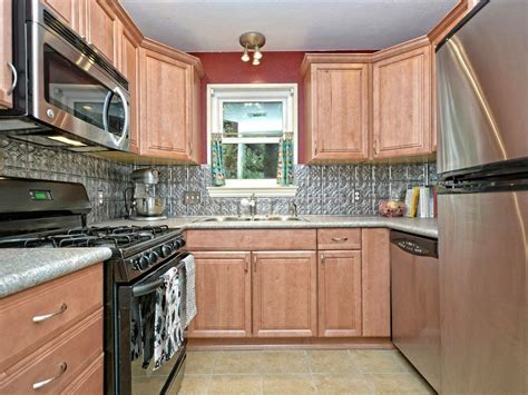 Country Kitchen With Limestone Tile Floors & Flush In