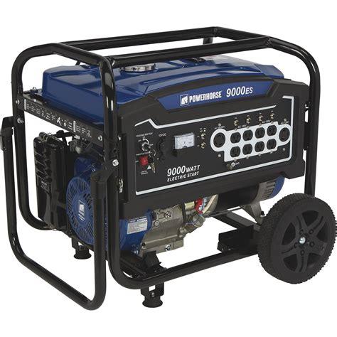 Generator Tool by Powerhorse Portable Generator 9 000 Surge Watts 7 250