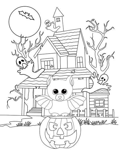 Kleurplaat Beanie Boo by Kleurplaat Beanie Boo Beanie Boo Coloring Pages To