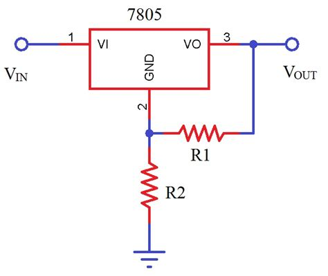 Variable Voltage Power Supply From Fixed Regulator