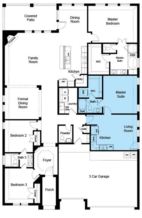 legacy twin mills fort worth texas dr horton home design floor plans house floor