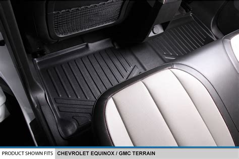 Chevy Equinox Floor Mats by 2012 2016 Chevy Equinox Gmc Terrain Floor Mats Black