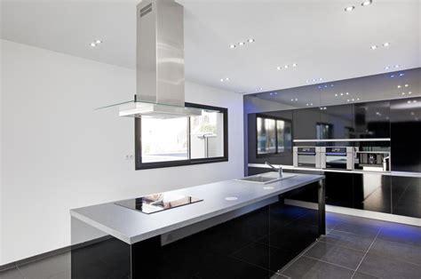 cuisine villa maison ultra contemporaine entre aix les bains et chambéry
