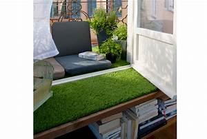 Gazon Artificiel Balcon : gazon synthetique sur balcon pelouse synthetique pour ~ Edinachiropracticcenter.com Idées de Décoration