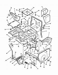 Main Case  Hinged Seat Mount  Diagram  U0026 Parts List For