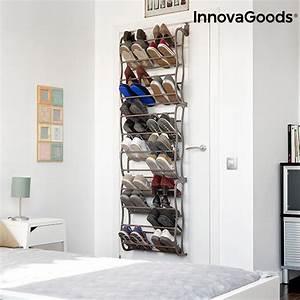 Schuhregal Für Die Tür : innovagoods schuhregal f r die t r 35 paare innovagoods ~ Watch28wear.com Haus und Dekorationen