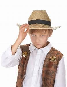 Chapeau De Paille Enfant : chapeau cowboy en paille enfant achat de chapeaux sur ~ Melissatoandfro.com Idées de Décoration