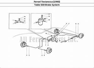 Buy Original Ferrari Testarossa  1990  038 Brake System
